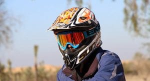 think about buying a new dirt bike helmet